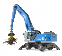 Equipment for scrap handlers