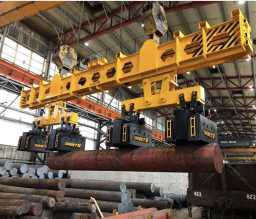 Electromagnetic spreader beams for long items of cargo нет табл