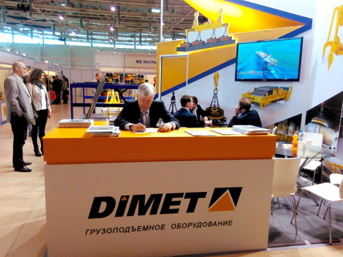 DIMET AT 11TH SPECIALIZED EXHIBITION OF MATERIAL LIFTING EQUIPMENT CRANEEXPO